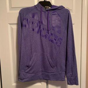 Purple Addidas Sweatshirt. Sz Lg EUC
